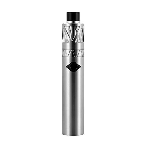 UWELL Whirl 20 Starter Kit 700mAh, E Zigarett Akku mit Vaporizer Extra Quartz Glass Tank 2ml/Ohne Nikotin Ohne Tabak (Silber)