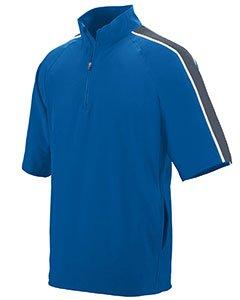 Augusta Sportswear Quantum Short Sleeve Pullover, Herren, Quantum Short Sleeve Pullover, Royal/Graphite/White, X-Large