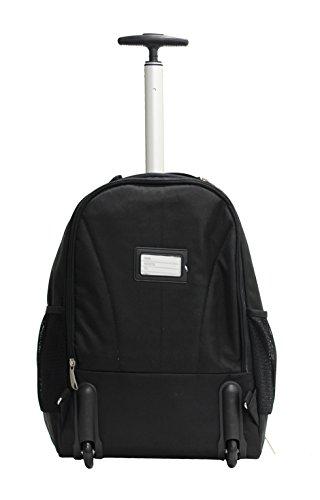 31oMSzQO9JL - Bolsa con Ruedas para Portatil Marqua Alistair Airo - 17 Pulgadas - Ultra Ligero - Color Negro