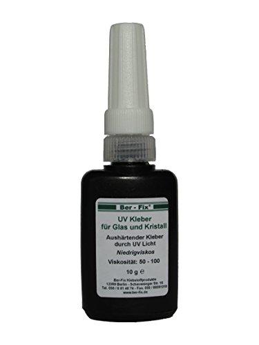 Ber-Fix UV-Kleber dünnflüssig, 10g (Uv-lampe Die Intensität)