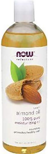 NOW Foods Sweet Almond Oil, Moisturizing Oil, 16 ounce