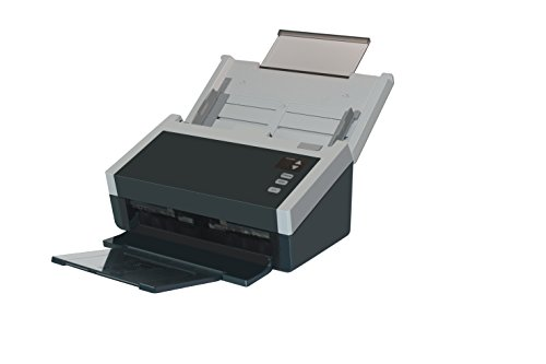AVISION AD240, DIN A4 Duplex Dokumentenscanner mit 40 Seiten pro Minute (Duplex: 80 Images pro Minute), 80 Blatt Dokumenteneinzug und Ultraschall Doppelblatteinzugserkennung