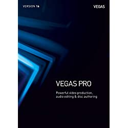 VEGAS Pro|16|1 Device|Perpetual License|PC|Disc