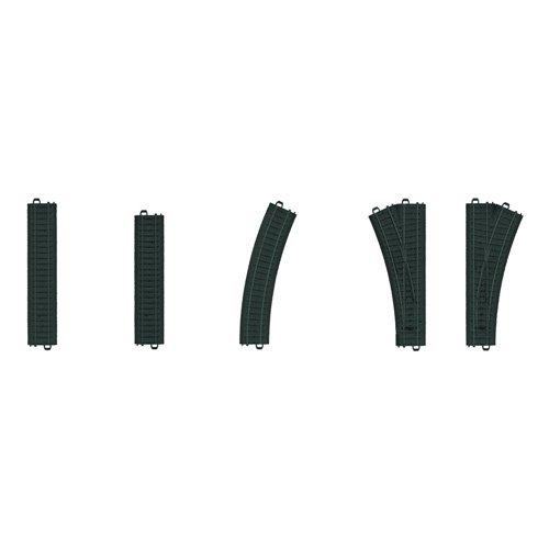 Märklin my world 23300 - Kunststoffgleis-Ergänzungspackung, Spur H0