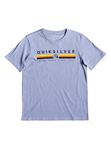 Quiksilver Jungen Get Bizzy T-Shirt, Stone Wash, XL/16 - Quiksilver-jungen Kleidung