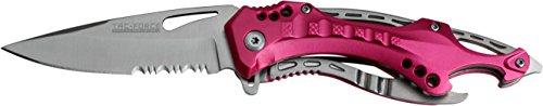 Tac-Force-Outdoormesser-Pink-Aluminium-Black-Liner-Klingenlnge-83-cm-TAFO-1181