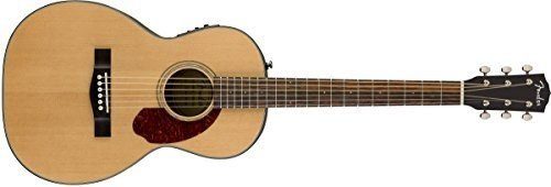 Fender cp-140se, Natural, duro caso Guitarra Electroacústica de madera de palisandro