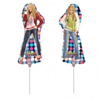 Ballon aluminium 45 cm Hannah Montana