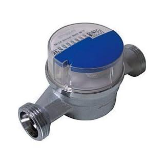 Andrae Einstrahl - Wasserzähler Kaltwasser Qn 1,5, 130 mm, Anschlussgewinde: 3/4