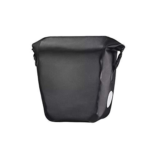 Azsunnyshow K 10-18 l Tragbare Fahrradtasche Gepäckträgertasche Rücksitztasche Kofferraumtasche Fahrradtasche wasserdicht, Polyester, Schwarz, Einheitsgröße -