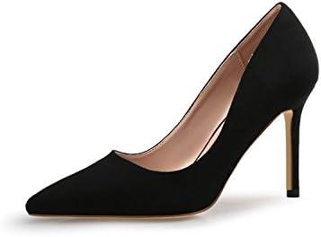 KNGMGK Verano Sandalias De Tacón Alto Tirantes Muchachas Zapatos Puntiagudos Solteros