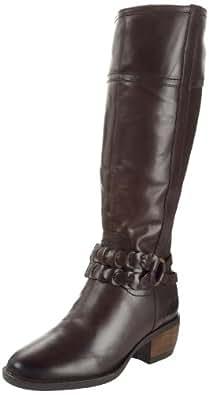 Hush Puppies Women's Pennine Dark Brown Riding Boots H2698802K 3 UK, 36 EU