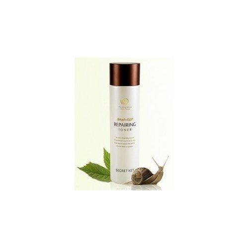 Secret Key - Best Snail Repairing Toner - Gesichtswasser mit Schneckenschleim gegen unreine Haut für Frauen und Männer - Gesichtsreinigung Unisex mit Alkohol - Gesichtsreinigung und Peeling - Reinigungsmilch und Cremes für das Gesicht - Make-up Entferner - Gesichtspeelings