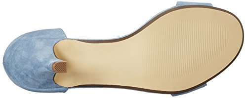 BIANCO - Low Basic Sandal Mam16, Scarpe col tacco Donna Blu (blu chiaro)
