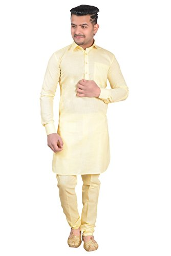 Royal And Premium Men's New Styel Pathani Kurta Salwar Suit Cotton Blend...
