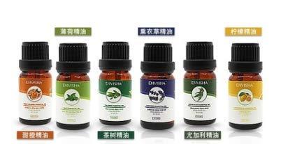 WOSTOO Ätherische Öle, 12 Bottle Naturreines 100% Pure Duftöle hochwertigster Qualität(Lavendel, Teebaum, Minze, Süßorange, Zitrone ect) für Massage, Aromatherapie, Entspannung Schlaf - 100% Reines Eukalyptus-minze