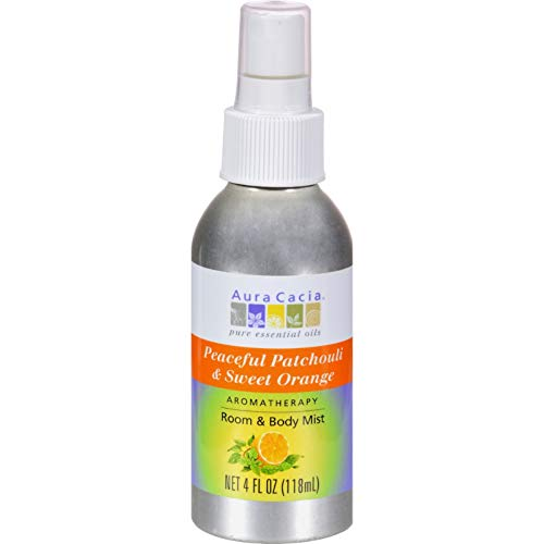 Aura Cacia Patchouli Sweet (Room Body Mist, ruhig Patchouli Sweet Orange - Aura Cacia)