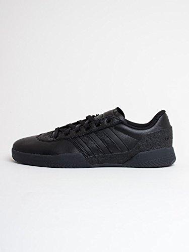 adidas Herren City Cup Skateboardschuhe Schwarz (Core Black Core Black)