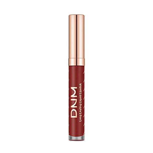 masrin Neue langlebige Lippenstift Wasserdichte Antihaft-Tasse Matte flüssige Lipgloss Lip Line Lip...