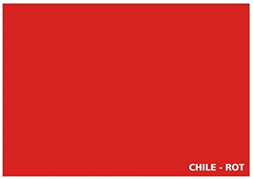 Tonkarton - Tonpapier - Tonzeichenpapier - 100 Blatt DIN A3 - 160g/m² Farbe: Chile-rot