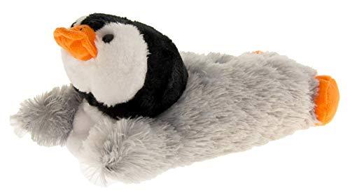 Dunlop Damen Grau Pinguin Hausschuhe EU 38-39