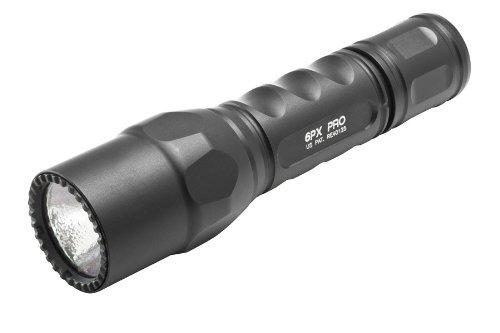 Surefire Taschenlampe Pro, schwarz, 13.2x3.2x3.2 cm, 6PX-B-BK