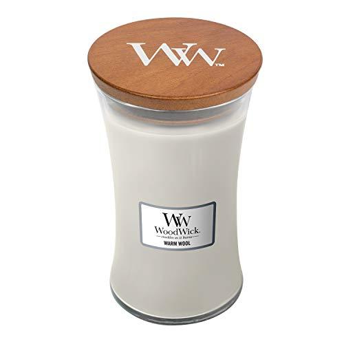 Woodwick Kerze, Warm Wolle, 609.5G