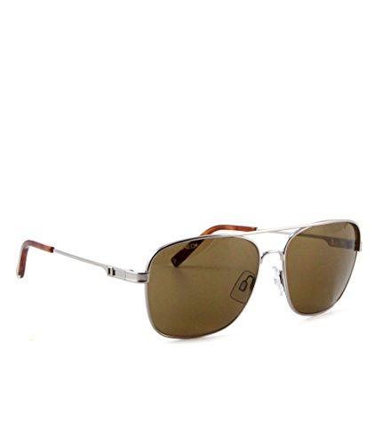 DSQUARED ² Designer Retro Vintage Sonnenbrille Mattsilber mit braunen Gläsern