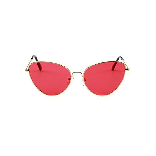 LINANA Aviator Sonnenbrillen Herren Damenmode Retro Style Designer Shades UV400 Objektiv Unisex (Color : G)