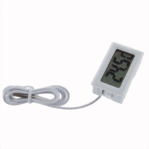 SODIALR Termometro Digital LCD Refrigerador Congelador