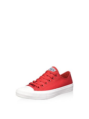 Converse Ct As Ii Ox Tencel, Chaussures Mixte Adulte rouge/blanc