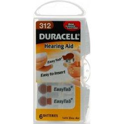 Duracell Hörgerätebatterie - , 312 Pack 6