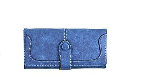Viele abteilungen Faux Wildleder Lange Brieftasche Frauen Matte Leder Dame geldbörse hochwertige weibliche geldbörsen kartenhalter Kupplung -