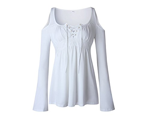 Xing Lin Camicetta Da Donna Base Coat Camicia Senza Maniche Lunghe Camicia Senza Spalline M