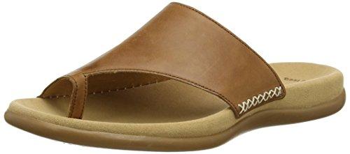 Gabor Shoes Damen Fashion Pantoletten, Braun (Peanut 24), 40 EU