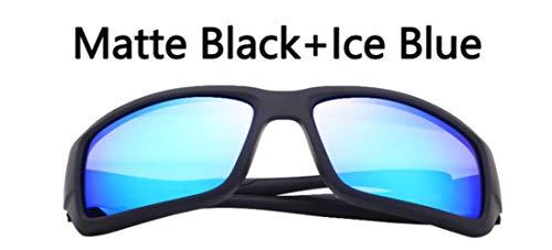 HPPL polarisierte Sonnenbrille Männer Fahren Brillen Beschichtung schwarz Sport Sonnenbrille Sonnenbrille männlich Quadrat Sonnenbrille uv400, c2, ohne Verpackung