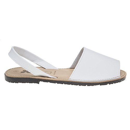 Xti Palma Damen Sandalen Weiß White