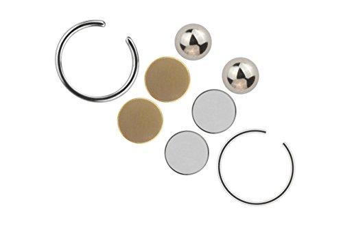 fake piercings lippe Fake Piercing Lippe Septum Ohrschmuck Magnet Universal