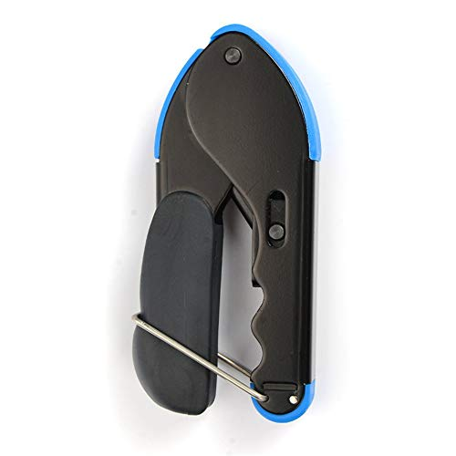 CHOULI RG59/RG6 Coaxial Cable Crimper Squeeze F Head Squeezing Clamp Network Crimp Black&Blue Rg6-crimper