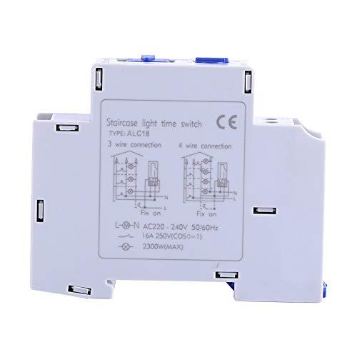 Interruptor temporizador - AC 220-240V Mecánica Electrodomésticos Escalera Relé electrónico Interruptor de...