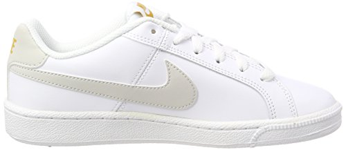 Nike Court Royale, Chaussures de Running Femme Blanc (White/Light Bone-Mineral Yellow 110)