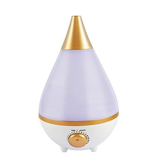 3L umidificatore ad ultrasuoni Cool nebulizzatore migliori umidificatori per camera/soggiorno/bambino con luce notturna grande 3L serbatoio dell'acqua auto spegnimento e filtro