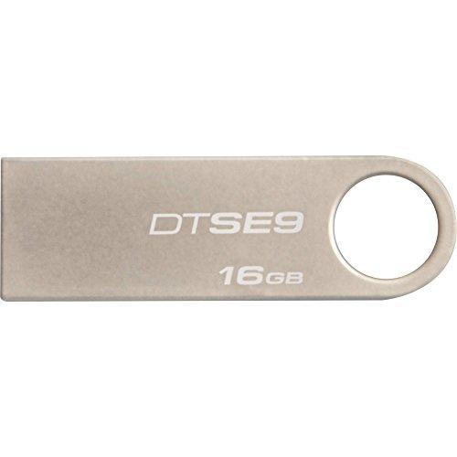 Kingston DataTraveler SE9 USB 2.0 16GB Pen Drive (Silver)