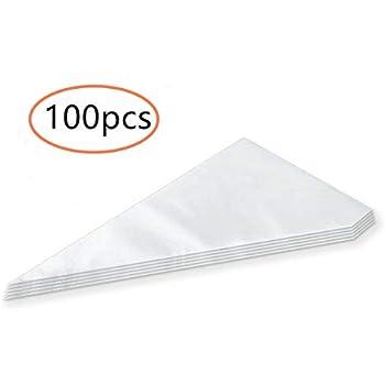 100 Poches à Douilles Pâtissier Jetables Décoration Professionnelles