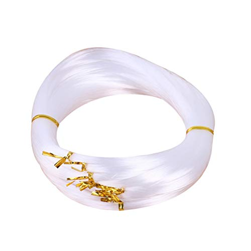 LIOOBO 300 Metros 0.5mm Cuerda Cristal Línea Pesca