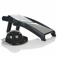 the-sharper-image-stainless-steel-adjustable-mandoline-slicer-by-the-sharper-image