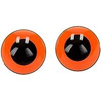 KUUQA 150 Stück 6-12mm Kunststoff Sicherheit Augen mit Unterlegscheiben für Puppen & Zubehör
