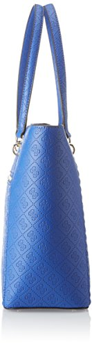 Guess Hobo, Borsa a Spalla Donna, 14.5x31x30.5 cm (W x H x L) Blu (Blue)