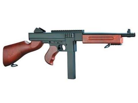 rsoft Gewehr Spring/Federdruck in Schwarz, unter 0.5 Joules, Hop up, GRATIS 2000 BULLDOG BBS 0.20G ()
