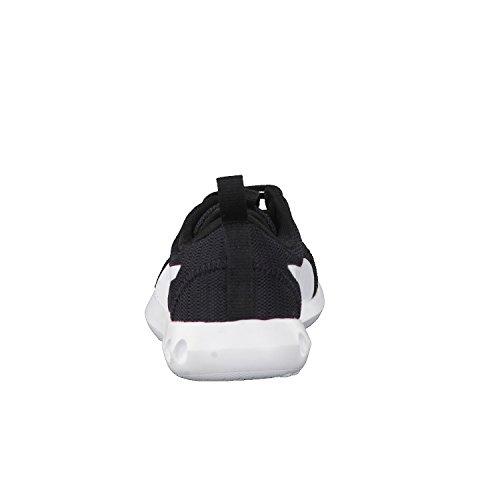 Puma Unisex-Kinder Carson 2 Jr Sneaker Schwarz (Black-White)